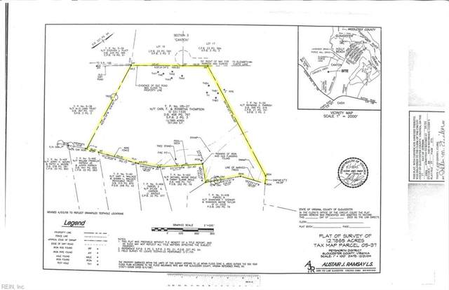 12+ac Elizabeth Curtis Ln, Gloucester County, VA 23061 (#10379144) :: Berkshire Hathaway HomeServices Towne Realty