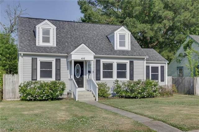 416 Melville Rd, Hampton, VA 23661 (#10380590) :: Atlantic Sotheby's International Realty