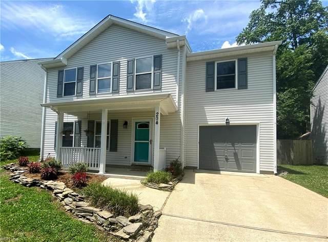 204 Old Hollow Rd, York County, VA 23185 (#10382513) :: The Kris Weaver Real Estate Team