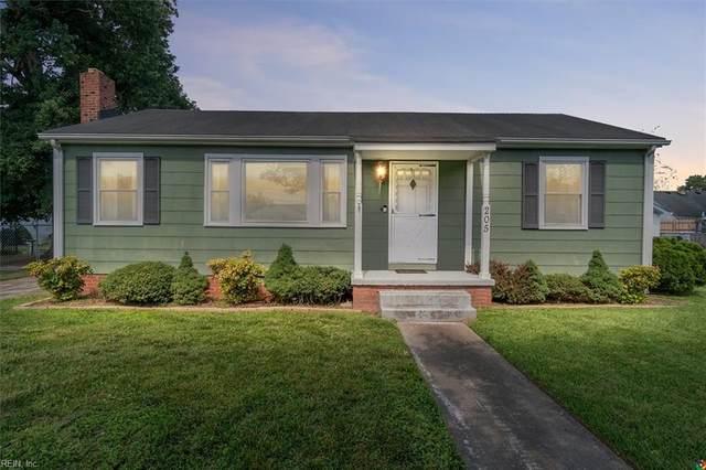205 Hodges Manor Rd, Portsmouth, VA 23701 (#10386634) :: Crescas Real Estate