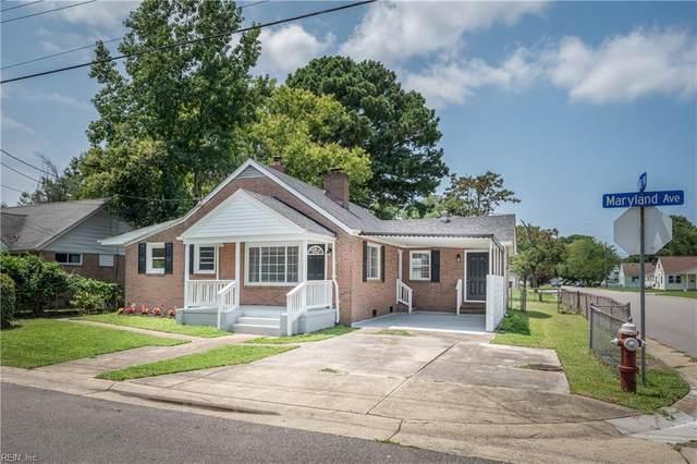 613 Maryland Ave, Hampton, VA 23661 (#10392751) :: Atkinson Realty