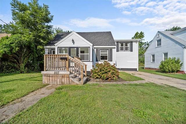 507 Homestead Ave, Hampton, VA 23661 (#10395623) :: The Kris Weaver Real Estate Team