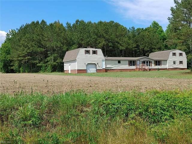 12423 Rivers Mill Rd, Southampton County, VA 23829 (#10400263) :: Rocket Real Estate