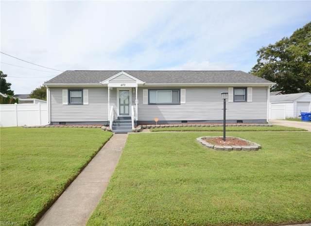 402 Eisenhower Cir, Portsmouth, VA 23701 (#10401644) :: Abbitt Realty Co.