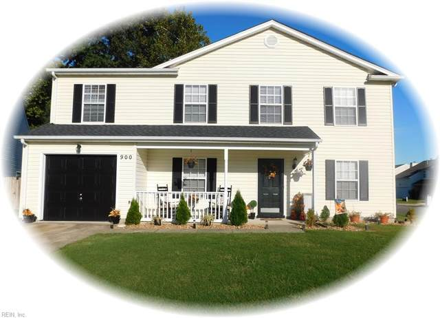 900 Melena Ct, Newport News, VA 23601 (MLS #10403319) :: AtCoastal Realty