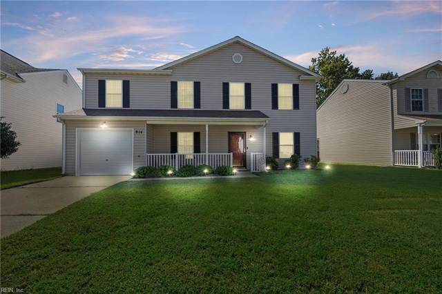 814 Mattmoore Pl, Newport News, VA 23601 (MLS #10404552) :: AtCoastal Realty