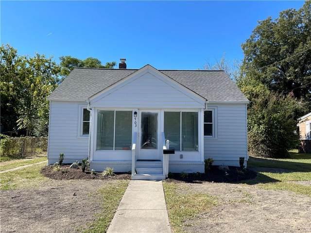 703 Maryland Ave, Hampton, VA 23661 (#10404620) :: Atlantic Sotheby's International Realty