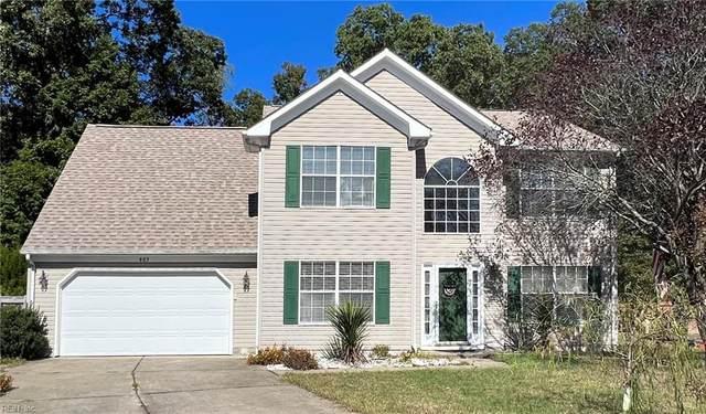 803 Duxbury Cir, Newport News, VA 23602 (#10407180) :: The Kris Weaver Real Estate Team