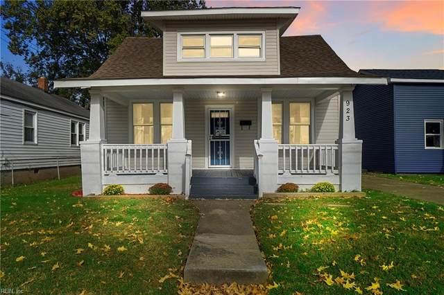 923 Hampton Ave, Newport News, VA 23605 (#10407425) :: Avalon Real Estate