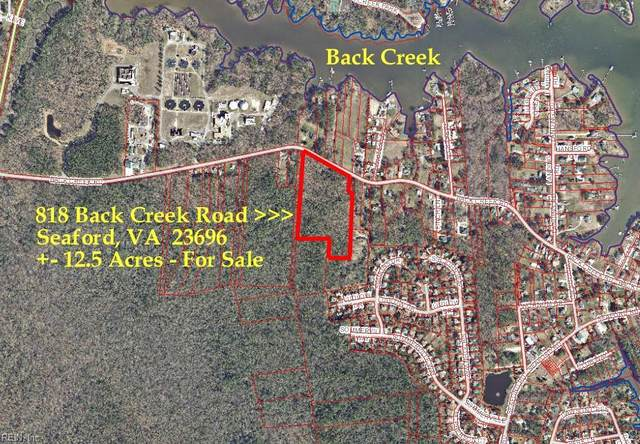 818 Back Creek Rd, York County, VA 23696 (#10407590) :: ELG Consulting Group