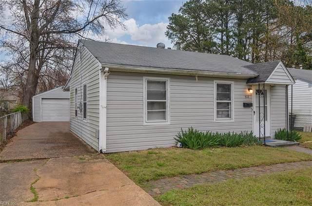 514 Marion Rd, Hampton, VA 23663 (#10407987) :: The Kris Weaver Real Estate Team