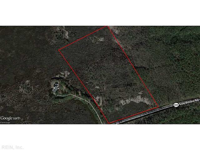 15AC. Guard Shr, Accomack County, VA 23203 (#1643667) :: Austin James Real Estate