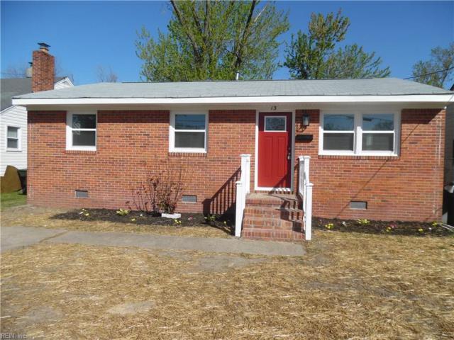 13 Kenneth St, Hampton, VA 23669 (MLS #10189494) :: AtCoastal Realty