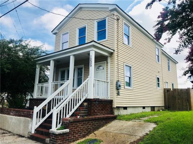 1205 Rose Ave, Portsmouth, VA 23704 (MLS #10209776) :: Chantel Ray Real Estate