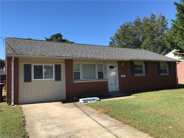 805 Lemaster Ave, Hampton, VA 23669 (#10211374) :: Atkinson Realty