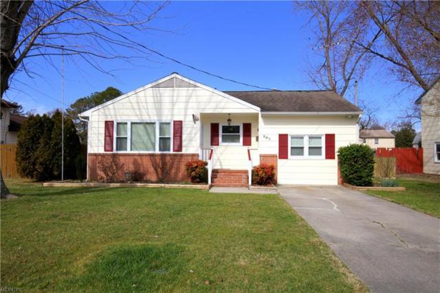 367 Flora Dr, Newport News, VA 23608 (#10240444) :: Austin James Real Estate