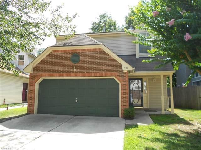 930 Ivystone Way, Newport News, VA 23602 (#10278065) :: Abbitt Realty Co.