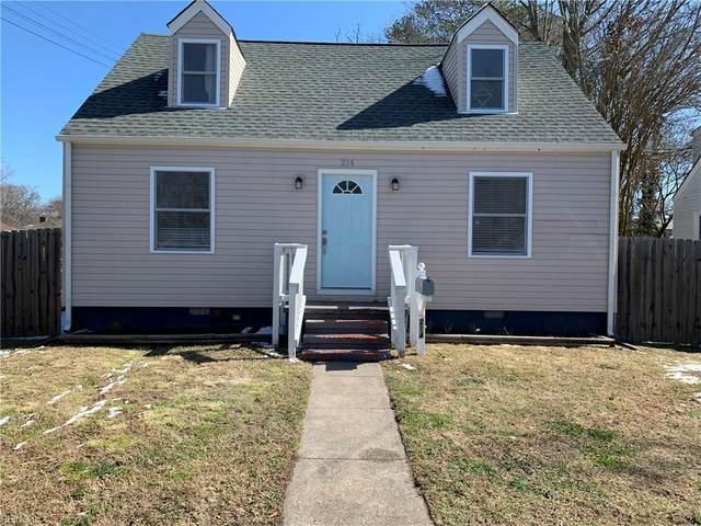 214 Brightwood Ave, Hampton, VA 23661 (#10306046) :: Avalon Real Estate