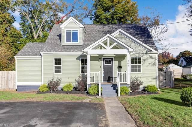 704 Delaware Ave, Hampton, VA 23661 (#10350455) :: Atkinson Realty