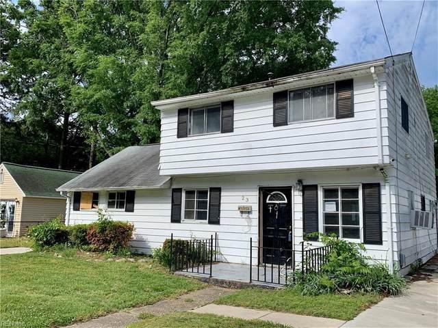 23 Newby Dr, Hampton, VA 23666 (MLS #10362402) :: Howard Hanna Real Estate Services