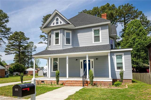 203 Park Rd, Suffolk, VA 23434 (#10373246) :: RE/MAX Central Realty
