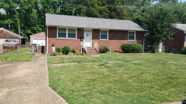 836 Redheart Dr, Hampton, VA 23666 (#10384987) :: Atkinson Realty