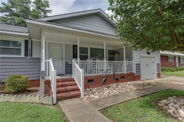 504 Frank Ln, Newport News, VA 23606 (#10396520) :: Rocket Real Estate