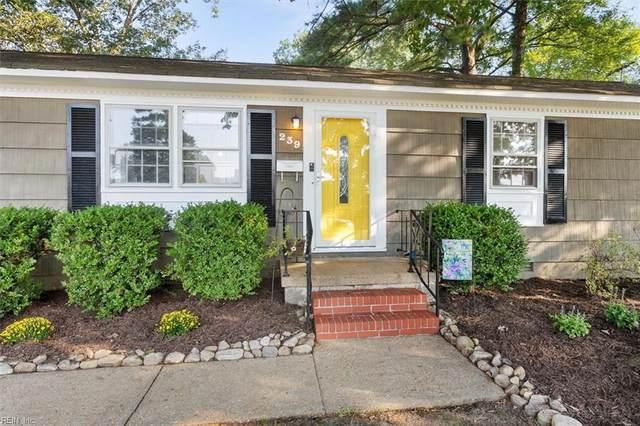 239 Robinson Dr, Newport News, VA 23601 (#10398355) :: The Kris Weaver Real Estate Team