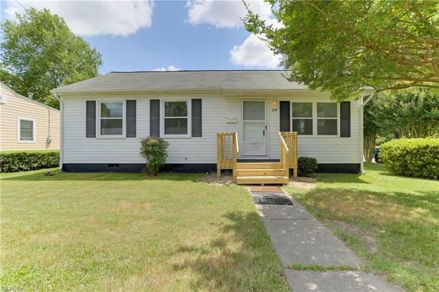 218 Boswell Dr, Hampton, VA 23669 (#10405303) :: Atlantic Sotheby's International Realty