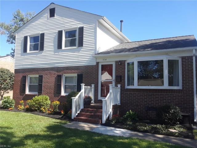 314 Hercules Dr, Hampton, VA 23669 (MLS #10203107) :: Chantel Ray Real Estate