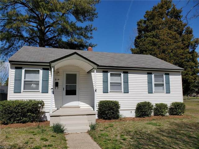 214 Ashburn Rd, Portsmouth, VA 23702 (MLS #10309902) :: Chantel Ray Real Estate