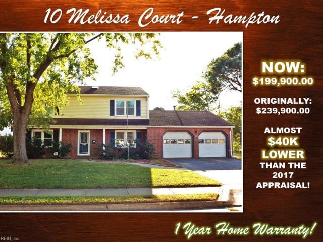 10 Melissa Ct, Hampton, VA 23669 (#10226132) :: Abbitt Realty Co.