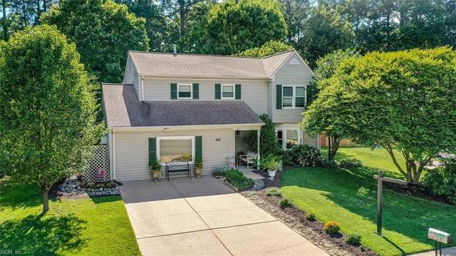 337 Bromsgrove Dr, Hampton, VA 23666 (#10384370) :: Berkshire Hathaway HomeServices Towne Realty