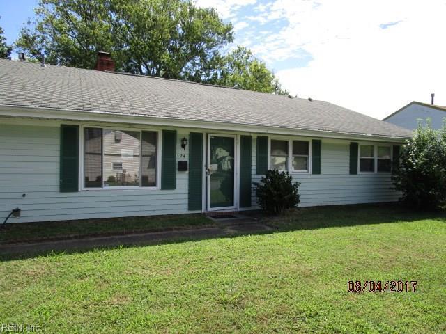 124 Miller Dr, Hampton, VA 23666 (#10146399) :: Resh Realty Group
