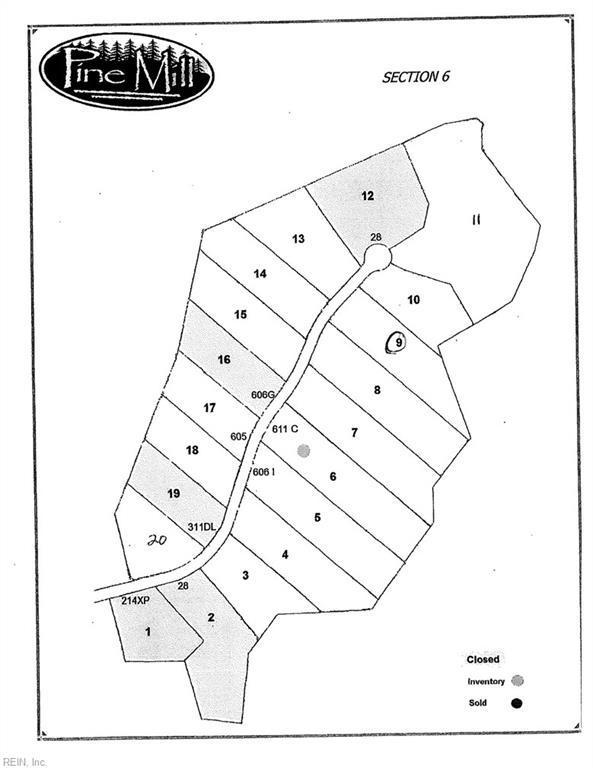 Lot 9 Poplar Ridge Dr, Gloucester County, VA 23061 (MLS #10150497) :: Chantel Ray Real Estate