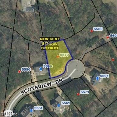 5570 Scotsview Dr, New Kent County, VA 23140 (#10166508) :: Atlantic Sotheby's International Realty