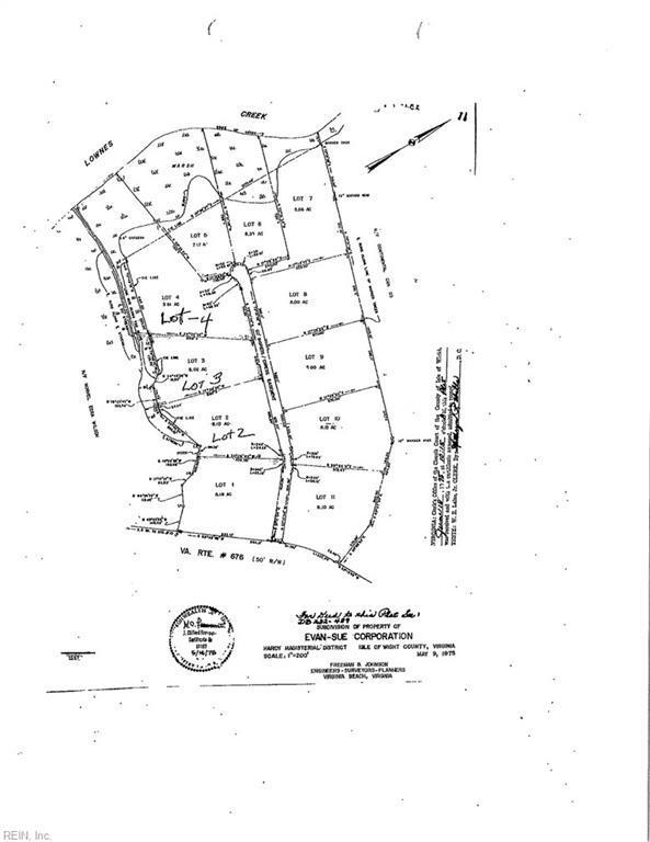 LOT 3 Lawnes Creek Rd, Isle of Wight County, VA 23430 (#10173986) :: The Kris Weaver Real Estate Team