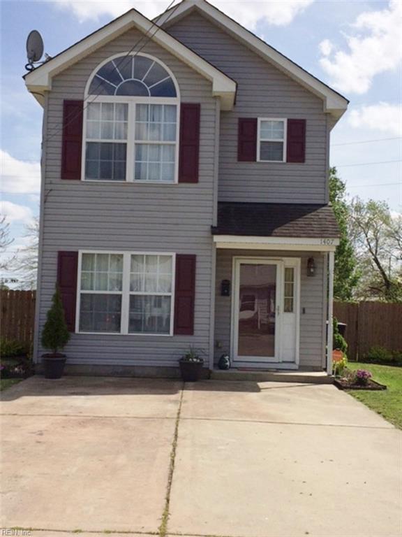 1407 Wirt Ave, Portsmouth, VA 23704 (MLS #10188833) :: Chantel Ray Real Estate