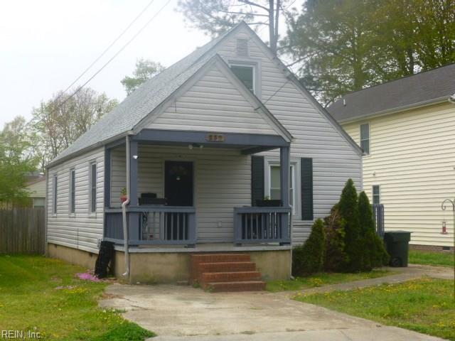 237 Piedmont Ave, Hampton, VA 23661 (MLS #10190298) :: AtCoastal Realty
