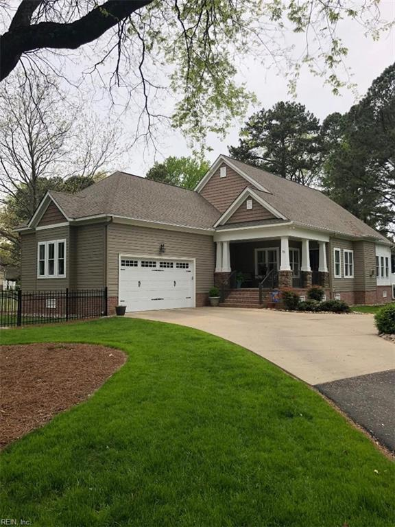 16 Terrace Dr, Poquoson, VA 23662 (#10193191) :: The Kris Weaver Real Estate Team