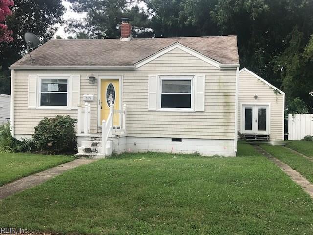 739 Kenosha Ave, Norfolk, VA 23509 (MLS #10206578) :: Chantel Ray Real Estate