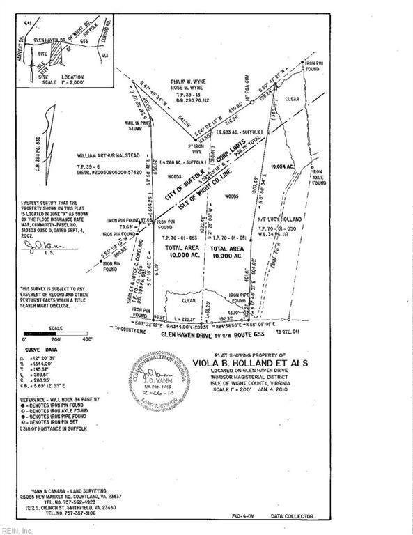 5336 Glen Haven Dr, Isle of Wight County, VA 23315 (MLS #10207925) :: Chantel Ray Real Estate