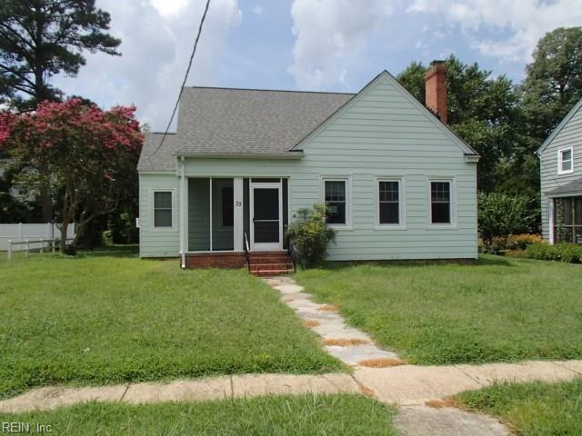 33 Manteo Ave, Hampton, VA 23661 (#10212293) :: Atkinson Realty
