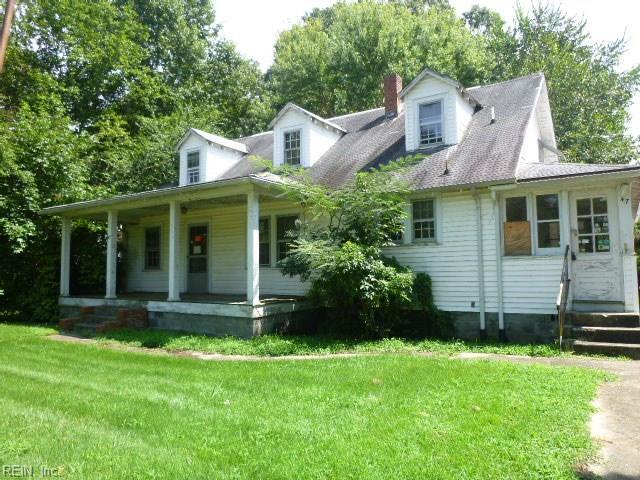 47 Curtis Tignor Rd, Newport News, VA 23608 (#10213160) :: RE/MAX Central Realty