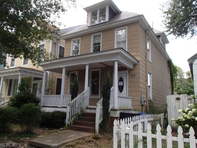 122 Webster Ave, Portsmouth, VA 23704 (MLS #10214646) :: Chantel Ray Real Estate