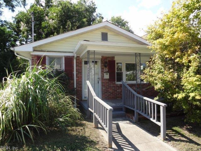 33 Redwood St, Hampton, VA 23669 (#10216595) :: The Kris Weaver Real Estate Team