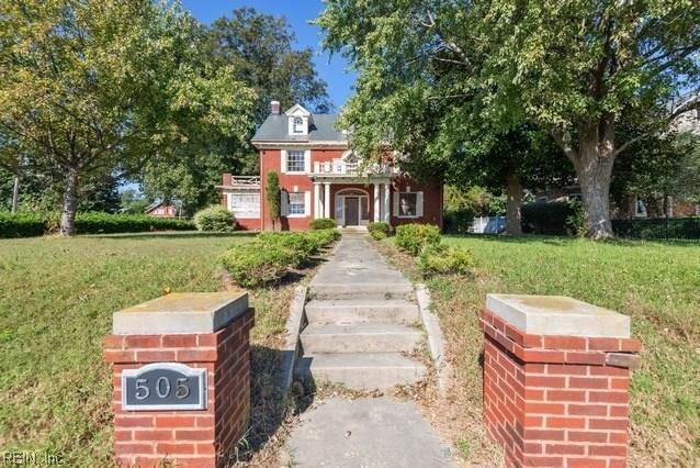 505 Chesapeake Ave, Newport News, VA 23607 (#10230062) :: Abbitt Realty Co.