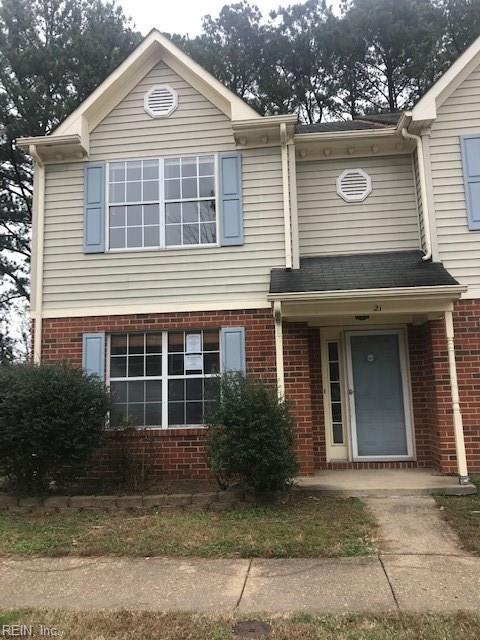 21 Carmine Pl, Hampton, VA 23666 (#10230899) :: Abbitt Realty Co.