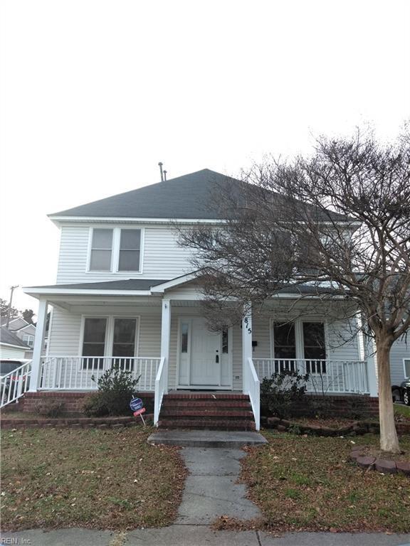 815 Maltby Cres, Norfolk, VA 23504 (#10231316) :: Austin James Real Estate
