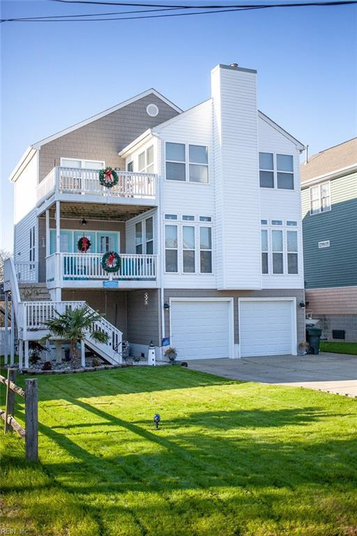 105 Bonita Dr, Hampton, VA 23664 (MLS #10231624) :: Chantel Ray Real Estate